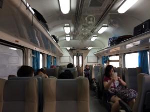 Thai Train inside