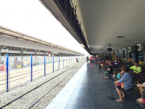 Hat Yai Junction with the locals